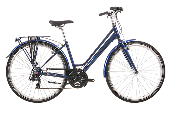 PIONEER 1 LOW STEP FRAME BLUE