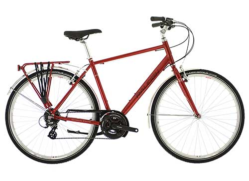 PIONEER 2 CROSSBAR FRAME RED
