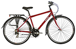 PIONEER 1 DIAMOND FRAME RED