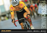 2014 double sided Raleigh road bike poster