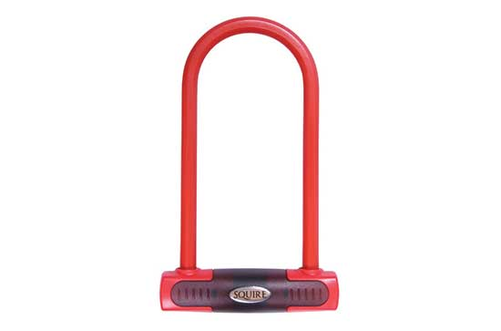 Eiger Compact Sold Secure Gold Shackle Lock