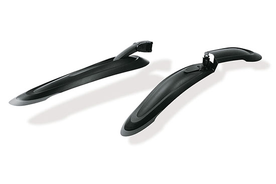 Suspension Front And Seat Post Rear Mudguard Set