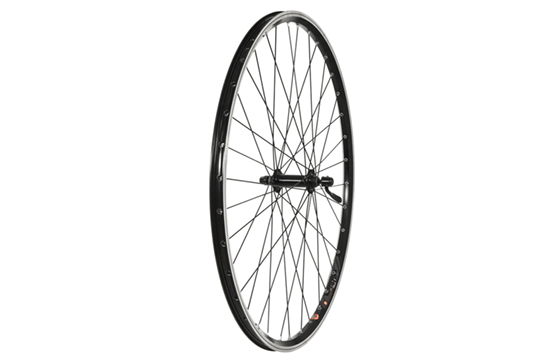 700C Front Wheel, Alloy Hub, Mach1 240 Rim, 36H, black (QR)