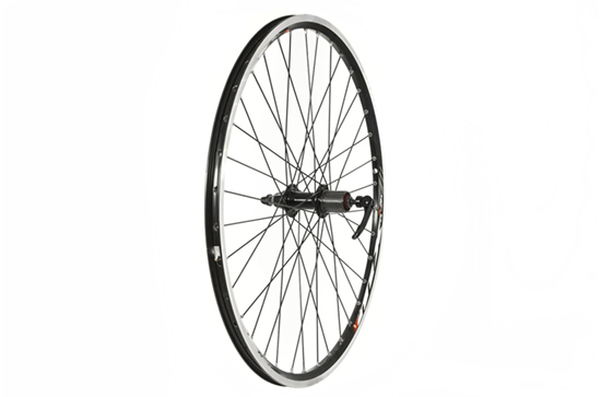 26 x 1.75 Rear Wheel, Mach1, Black (QR) 8/9 speed