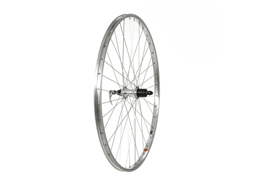 700C Rear Wheel, Alloy 36H rim, Shimano 7speed cassette (QR)