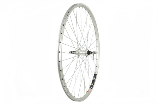 700C Rear Wheel, Mach1 240 Rim, screw-on fitting (QR)
