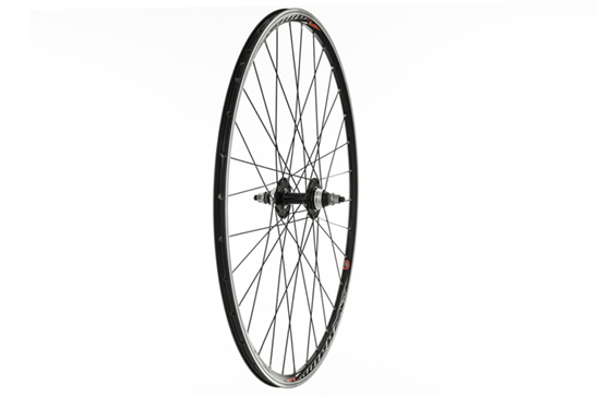 Rear Track Wheel, Mach 1 Omega Rim, Black.