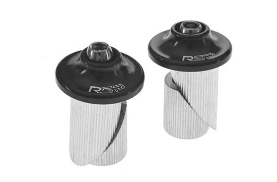 Alloy Bar Plugs Black Or Silver