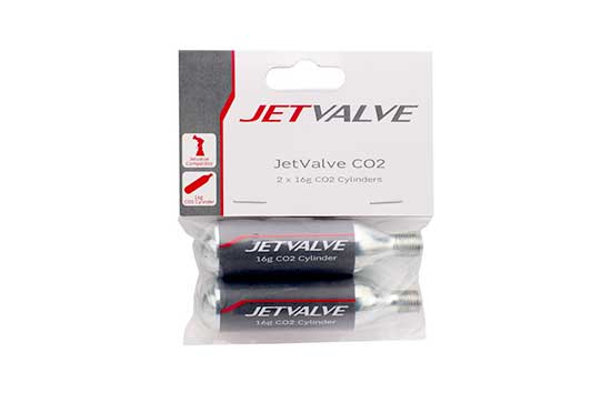 JET (16G) CO2 REFILL CYLINDERS