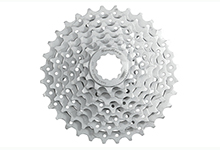 Satin Finish 8 Speed Cassette