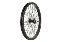 "20"" Rear BMX Wheel, 48h, 3/8"" Axle, Black"