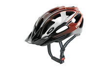 Supersonic  MTB cycle helmet White & Red