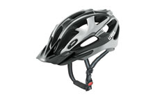 Supersonic MTB cycle helmet silver & black