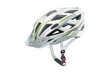 Xenova cycle helmet  white & green