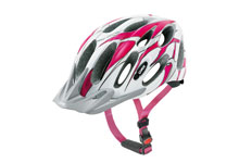 Magnum MTB cycle helmet white & pink