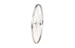 700C Front Wheel, Alloy Hub, Single Wall Rim, 36H, Silver