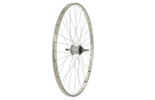 700C Rear Wheel, Alloy 36H Rim, Sturmey Archer 3 speed hub.