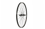 700C Rear Wheel, Mach1 240 Rim, Black, Shimano 8/9spd cassette hub (QR).