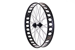 Front Salsa 9 x 135mm q/r & 15 x 142mm bolt through Alex Blizzerk 90 Tubeless ready 32h