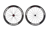 404 Firecrest Carbon Clincher Rear 24 spokes 10/11 Speed SRAM Cassette Body White Decal