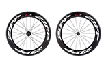 808 Firecrest Carbon Clincher Rear 24 spokes10/11 Speed SRAMCassette Body White Decal - Special Order