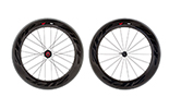 808 Firecrest Carbon Clincher Rear 24 spokes 10/11 Speed SRAM Cassette Body Black Decal - Special Order